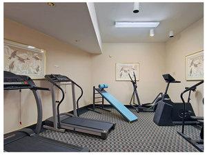 Fitness/ Exercise Room - Tiki Resort Lake George