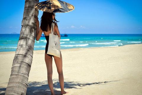Private Beach at The Anam Villas