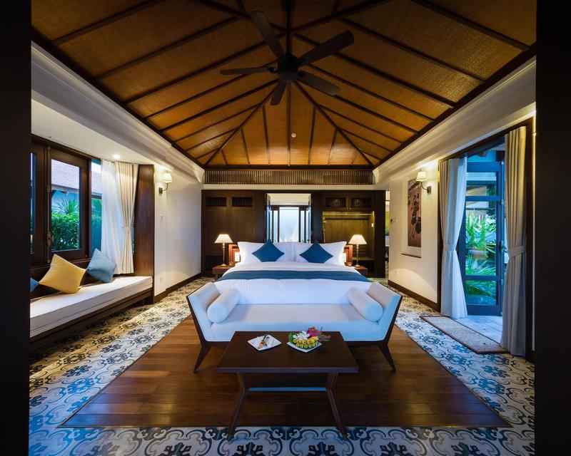 Villa Bedroom at The Anam Villas