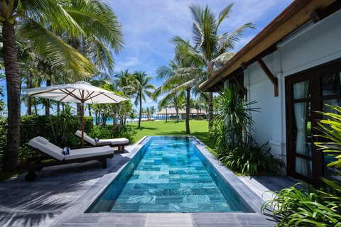 Private Pool at The Anam Villas