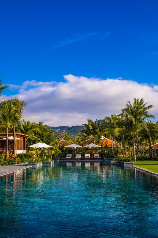 Center Pool at The Anam Villas