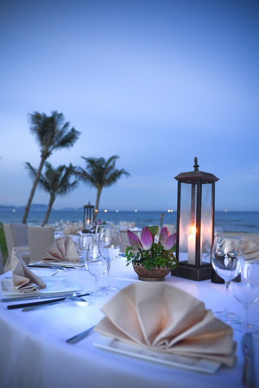 Themed Dinner At The Beach at The Anam Villas