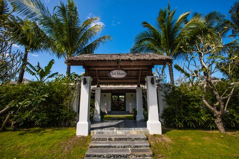 The Anam Spa Entrance at The Anam Villas