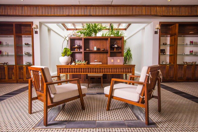 The Anam Spa Reception at The Anam Villas