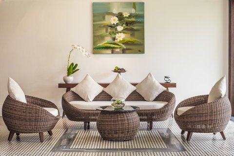 The Anam Spa Lobby at The Anam Villas