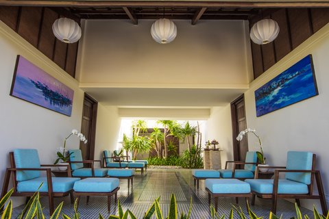 The Anam Relaxing Area at The Anam Villas