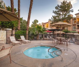 Pool - Desert Rose Resort Las Vegas