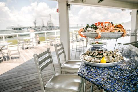 Seafood Tower Wtih Yorktown