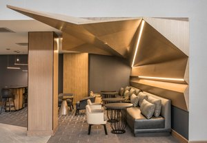 Lobby - Marriott Hotel Tech Center Denver
