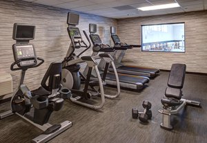 Fitness/ Exercise Room - Courtyard by Marriott Hotel Clive