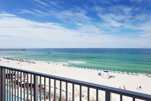 Exterior View Holiday Inn Express Hotel Suites Beachfront Panama City Beach