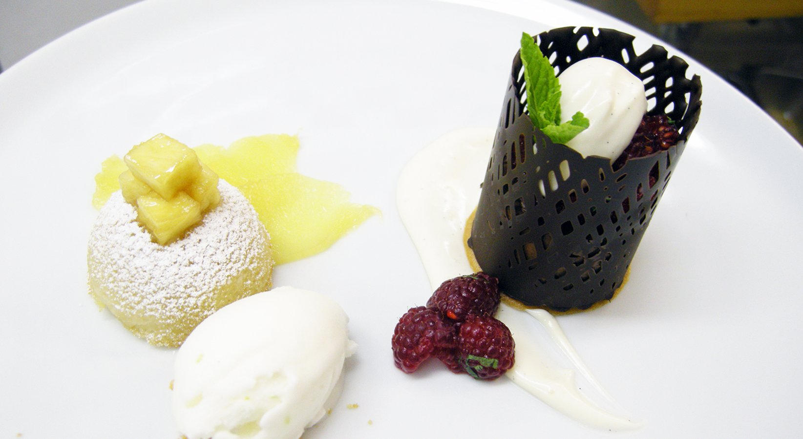 Bittersweet Chocolate Dessert