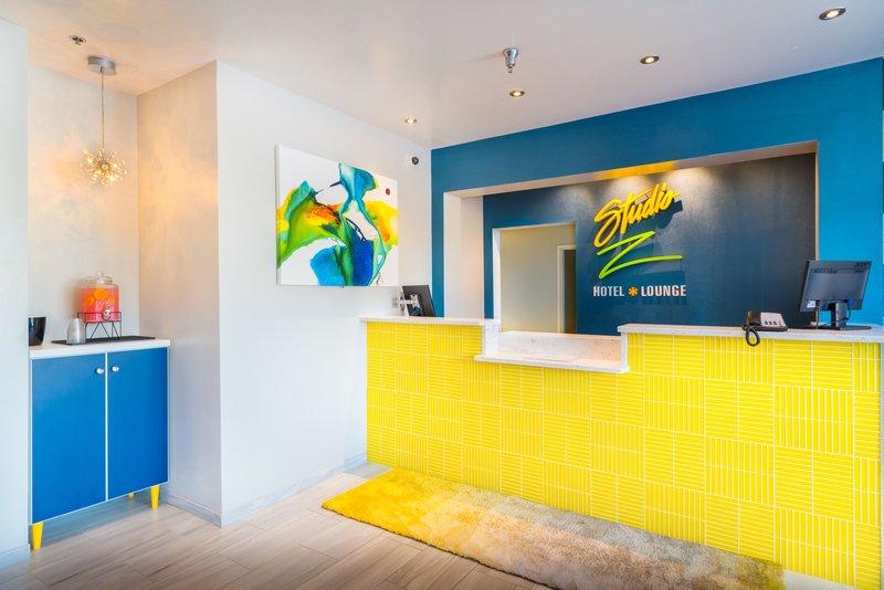Studio Z Front Desk