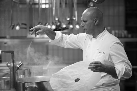 Chef Eric Mazeas