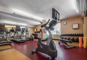 Fitness/ Exercise Room - Courtyard by Marriott Hotel Chevy Chase