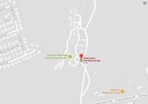 Map - Gold Canyon Golf Resort