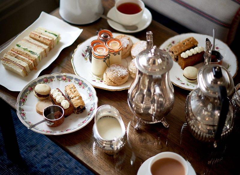 Enjoy Our Delicious Aftertoon Tea
