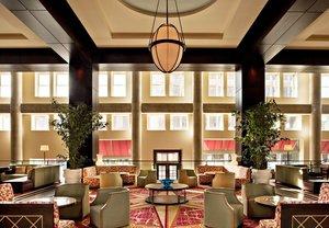 Lobby - Marriott Hotel Penn Square Lancaster
