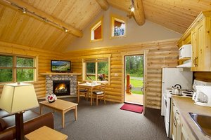 Lobby - Pocahontas Cabins Jasper