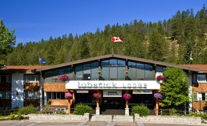 Exterior view - Lobstick Lodge Jasper