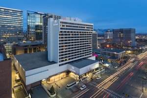 Exterior view - Hilton Hotel Downtown Salt Lake City