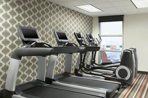 Fitness/ Exercise Room - Aloft Hotel University Calgary