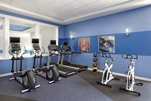 Fitness/ Exercise Room - Four Points by Sheraton Hotel Edmonton
