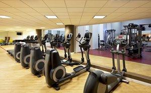 Fitness/ Exercise Room - Sheraton Hotel Parsippany