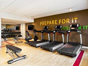 Fitness/ Exercise Room - Sheraton Hotel Needham