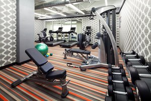 Fitness/ Exercise Room - Aloft Hotel Downtown Denver