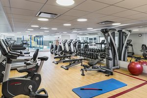 Fitness/ Exercise Room - Sheraton Suites Eau Claire Calgary