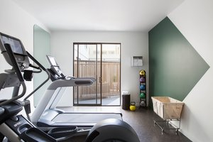 Fitness/ Exercise Room - Kimpton Buchanan Hotel San Francisco