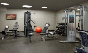 Fitness/ Exercise Room - Crowne Plaza Hotel JFK Airport Jamaica