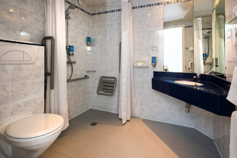 Our accessible en-suites are designed for wheelcha