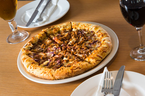 Treat yourself to one of our tasty pizzas!