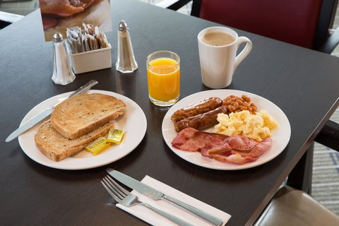 Tuck in to a delicious inclusive buffet breakfast