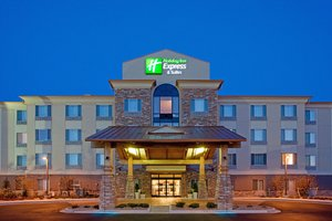 Exterior view - Holiday Inn Express Hotel & Suites Airport Denver