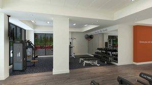 Fitness/ Exercise Room - Even Hotel South Lake Union Seattle