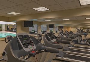 Fitness/ Exercise Room - Holiday Inn Mart Plaza Chicago