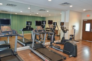 Fitness/ Exercise Room - Holiday Inn Express Hotel & Suites Northeast University Charlotte