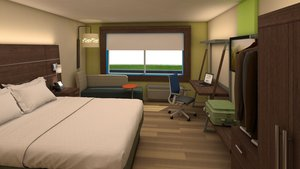 Room - Holiday Inn Express Hotel & Suites Outlet Mall Gettysburg