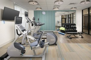 Fitness/ Exercise Room - Holiday Inn Express Downtown Pensacola