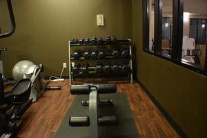 Fitness/ Exercise Room - Holiday Inn Express Hotel & Suites Garden City