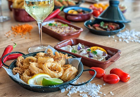 The Zeen Restaurant - Tapas Style Lunch Selections