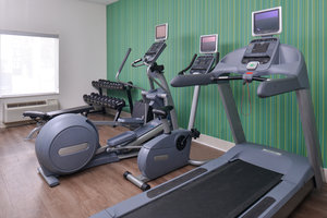 Fitness/ Exercise Room - Holiday Inn Express Hotel & Suites North Padre Island Corpus Christi
