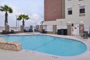 Pool - Holiday Inn Express Hotel & Suites North Padre Island Corpus Christi