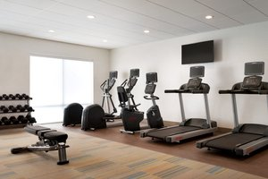 Fitness/ Exercise Room - Holiday Inn Express Hotel & Suites Wilder