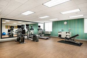 Fitness/ Exercise Room - Holiday Inn Express Hotel & Suites Belmont