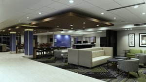Lobby - Holiday Inn Express Hotel & Suites East Tampa