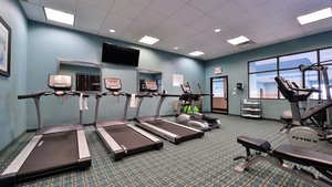 Fitness/ Exercise Room - Holiday Inn Hotel & Suites Nisku